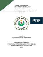 Critical Journal Review Biology