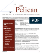 September-October 2006 Pelican Newsletter Lahontan Audubon Society