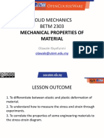 Week 3_Mechanical Properties of Materials