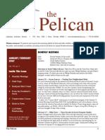 January-February 2007 Pelican Newsletter Lahontan Audubon Society