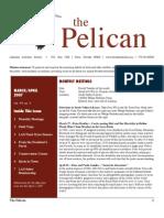 March-April 2007 Pelican Newsletter Lahontan Audubon Society