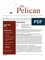 March-April 2007 Pelican Newsletter Lahontan Audubon Society