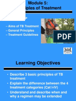 5.0 Principles of TB Treatment