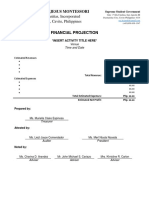 SSG Financial Projection