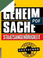 Max Von Frei - Geheim Sache Staatangeh 246 Rigkeit