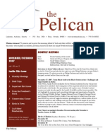 November-December 2007 Pelican Newsletter Lahontan Audubon Society