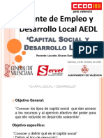 Capital Social y Desarrollo Local