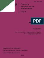 Una introducción a la geometría y el álgebra de los complejos simpliciales