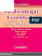 Jason Payne-James, Ian Wall, Peter Dean-Medicolegal Essentials in Healthcare (2004)