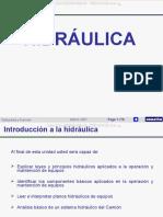 Curso Sistemas Hidraulicos Maquinaria Komatsu Leyes Principios Hidraulica Componentes Funcionamiento Planos Analisis