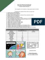 Guía de Estudio 3eros Básicos Movimientos de La Tierra