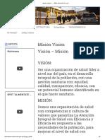 Misión Visión –