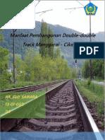 Paper Manfaat Pembangunan Double-double