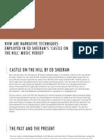 Castle on the Hill Narrative Case Study