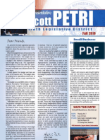 Petri Fall 2010 Newsletter