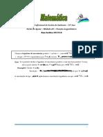 Ficha de Apoio Função Logarítmica GAM
