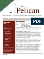 March-April 2009 Pelican Newsletter Lahontan Audubon Society