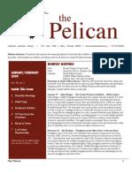 January-February 2009 Pelican Newsletter Lahontan Audubon Society