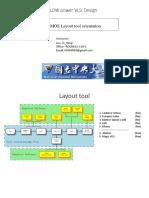 CMOS Layout Tool Orientation