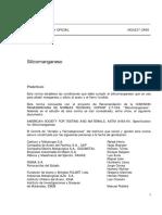 NCh0237-68 Silicomanganeso