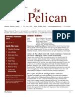 January-February 2010 Pelican Newsletter Lahontan Audubon Society