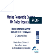 Steph Merry_Marine Renewable Energy_ UK Policy Incentives
