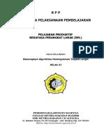 RPP Algo Lanjut Fix