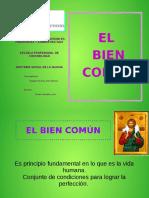 Diapositivas BIEN COMUN
