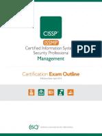ISSMP Exam Outline-V817