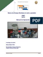 Manual de Operación Bombas Serie-Paralelo Automatico