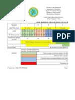Casay Nhs Immersion Schedule Matix