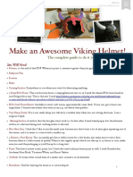 Viking Helmet Completed