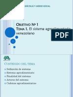 Tema 1 El Sistema Agroalimentario 2013-1