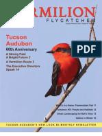 January-February 2009 Vermilion Flycatcher Tucson Audubon Society
