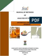 Manual Antibiotics Hormones Residues 09-01-2017