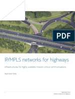 Nokia IP-MPLS Networks for Highways Application Note En