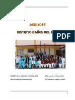 ''Asis Distrito Baños Del Inca 2016