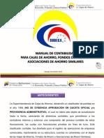MANUAL DE CONTABILIDAD  PARA CAJAS DE AHORRO, FONDOS DE AHORRO Y   ASOCIACIONES DE AHORRO SIMILARES 2014.pdf
