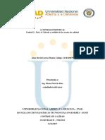 Unidad 2 Fase 4 Cálculo y Análisis de Los Costos de Calidad