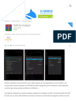 RAR for Android 5.50.Build43 Para Android - Descargar