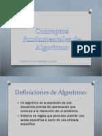 Conceptos Fundamentales de Algoritmo