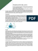 Contaminación Del Agua Quimica Antrhony