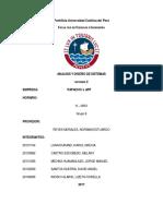 Tarea académica - Análisis y diseño de sistemas