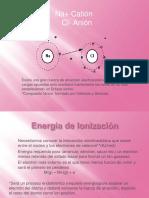 Energia de Inizacion P