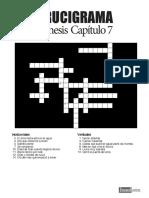 Genesis 7 Crucigrama