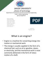 Motor Vechile Presentation