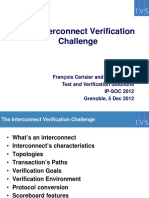 IPSOC2012 Interconnect Verification Callenge Slides