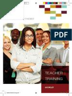 Booklet Teacher Trainings