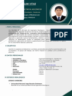 Cv - Luis Chuctaya Ascencio