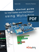 Getting Started Guide for Intel Galileo and Intel Edison Using Wyliodrin